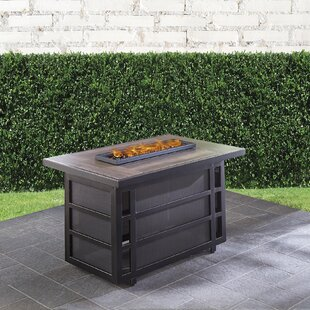 Hanover Chateau Polyserin Propane Fire Pit Table