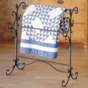 Iron Scroll Quilt Rack by Laurel Foundry Modern Farmhouse