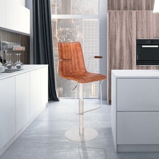 Nathaly Adjustable Height Swivel Bar Stool