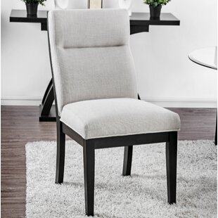 Goheen Upholstered Dining Chair (Set of 2) Wrought Studio