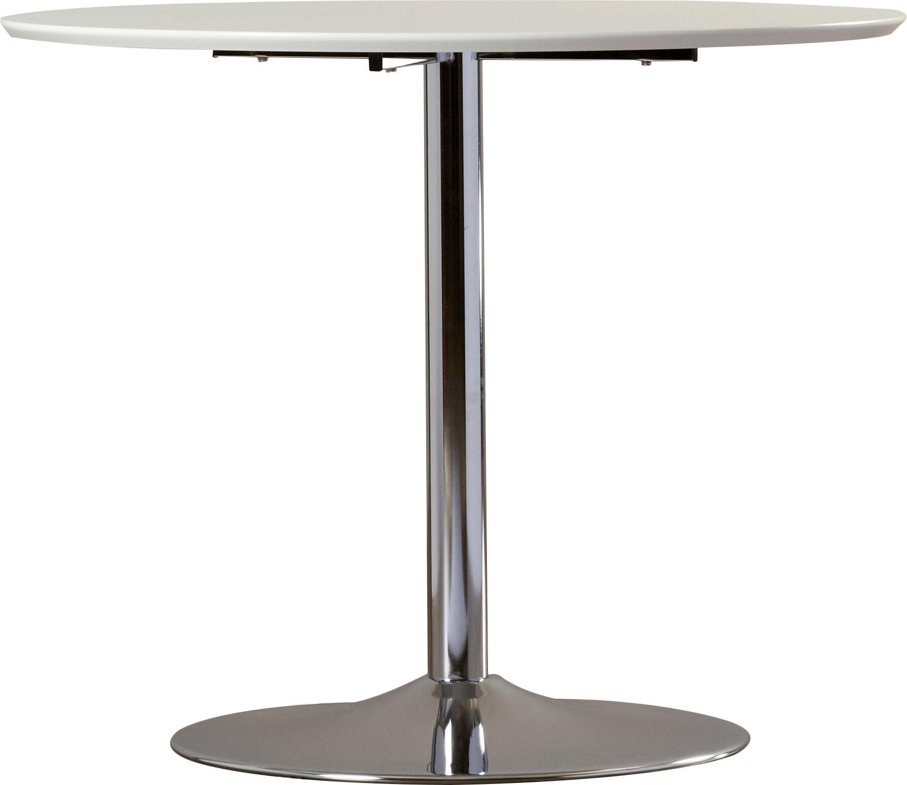 8ebdec12ea50f Ember Metal Base Dining Table   Reviews