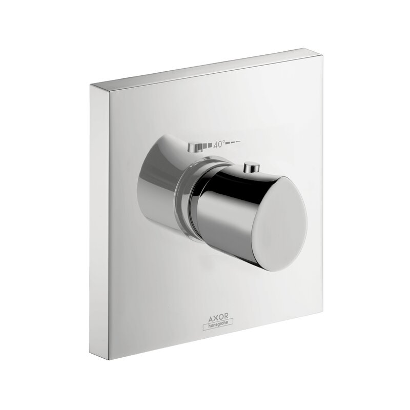 Axor Axor Starck Organic Thermostatic Faucet Trim with Lever Handle ...