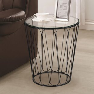 Stockard End Table by Wrought Studio