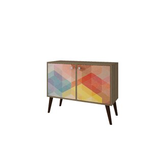 Duffy 2 Door Accent Cabinet by Mercury Row