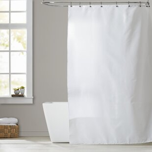 Shower Curtain No Liner Needed