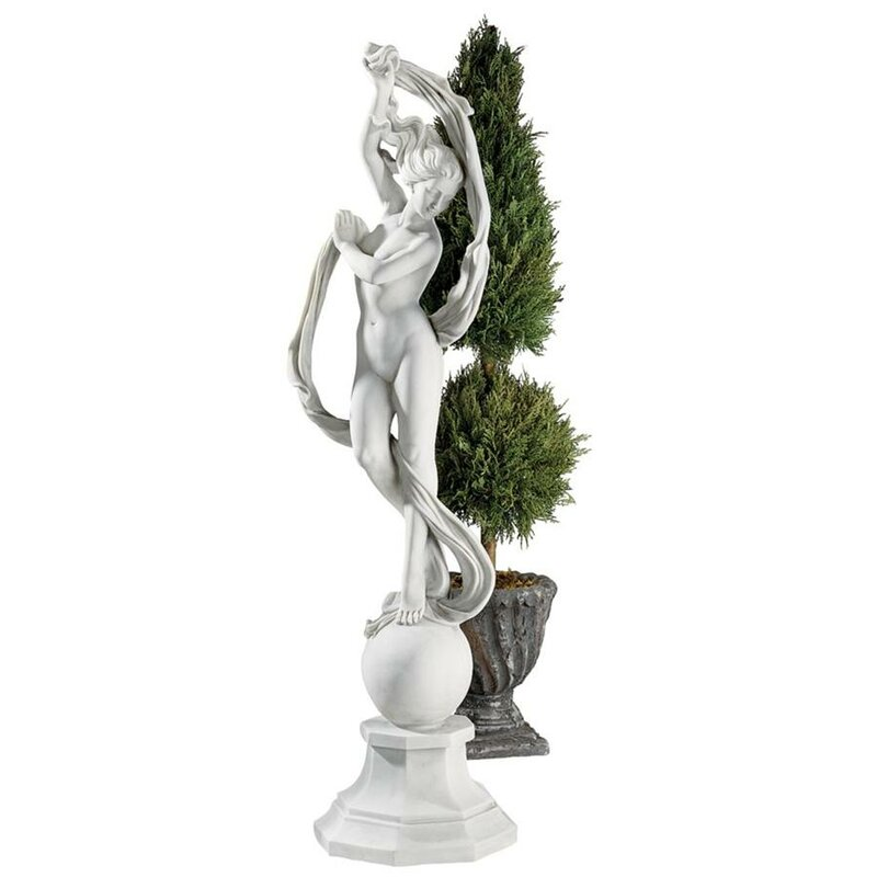 Goddess Aurora Statue Wayfair