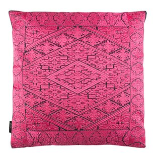 Poitra Embroidered Throw Pillow