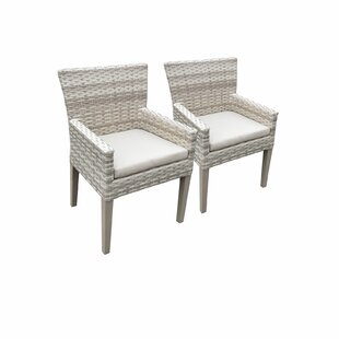 Fairmont Patio Dining Chair with Cushion (Set of 2)