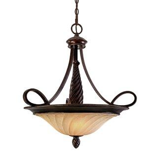 Darby Home Co Hoopeston 3-Light Bowl Pendant