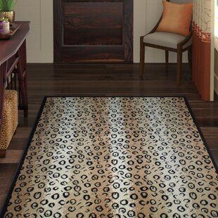 Reviews Pullen Black Area Rug By World Menagerie