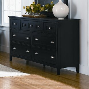 Darby Home Co Janssen 7 Drawer Double Dre..