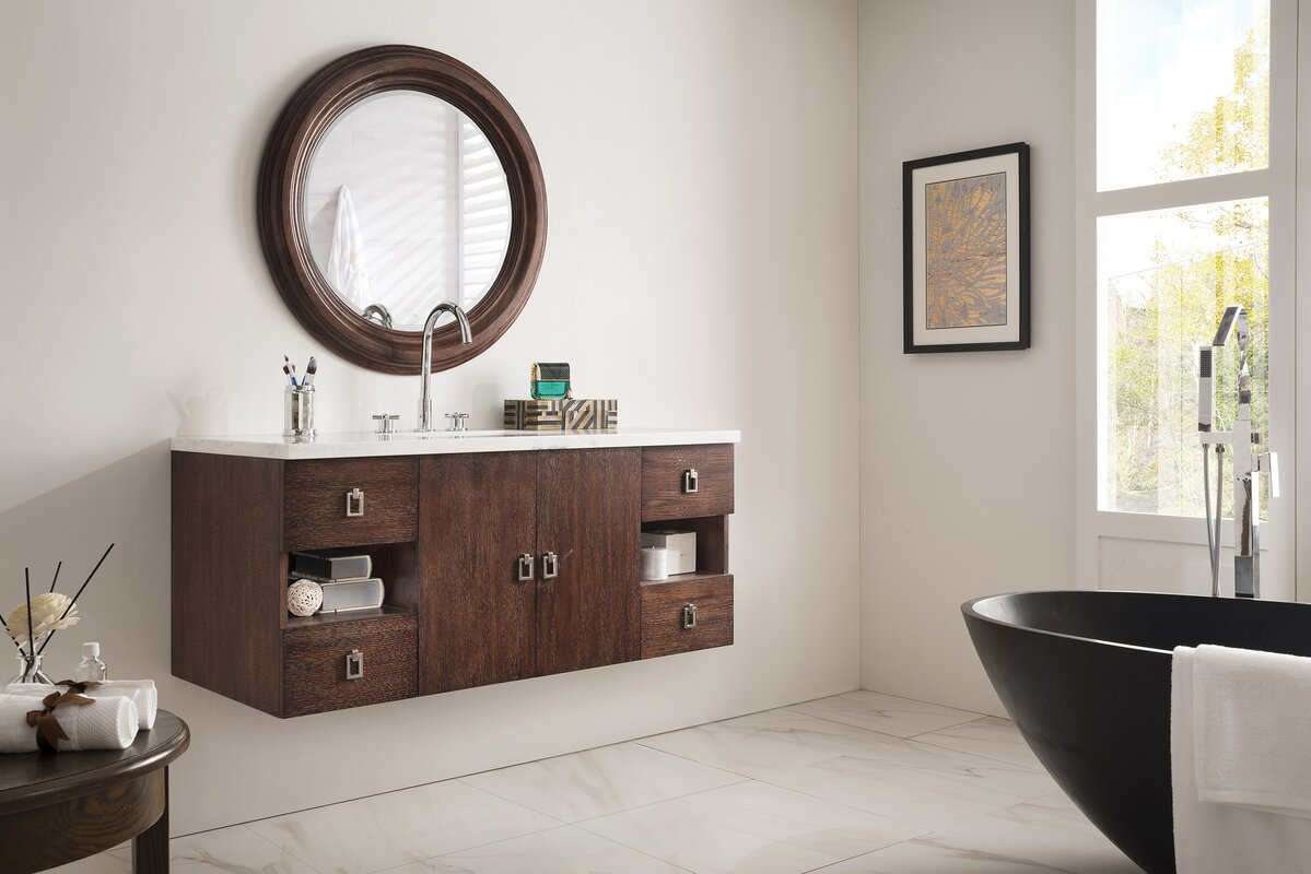 ivy bronx hobbs single bathroom vanity