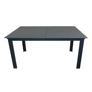 Faiyaz Extendable Aluminium Dining Table By Sol 72 Outdoor