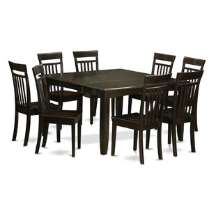 Pilning 9 Piece Wood Dining Set