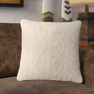Polson Cable Knit Throw Pillow