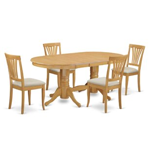 Darby Home Co Rockdale 5 Piece Extendable Dining Set