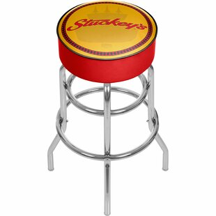 Stuckey's 31 Swivel Bar Stool by Trademark Global Today Sale Only