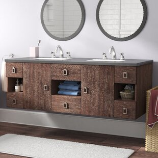 Find a Hobbs 60 Wall-Mounted Double Bathroom Vanity Set By Ivy Bronx