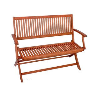 Stockholm Wooden Garden Bench By Sol 72 Outdoor