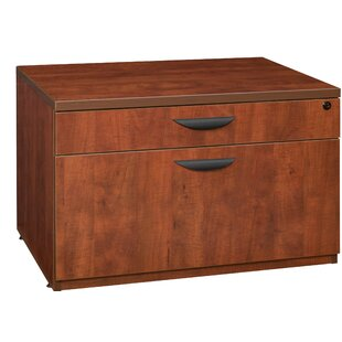Linh Low Box File 2-Drawer Lateral Filing Cabinet