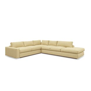 Jackson 114x 134 Corner Sectional with Bumper by TrueModern