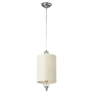One Allium Way Overby 1-Light Cylinder Pendant