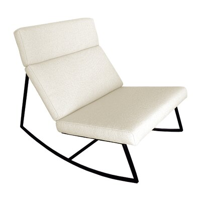 Miraculous Gus Modern Gt Rocking Lounge Chair Fabric Cabana Husk Pabps2019 Chair Design Images Pabps2019Com