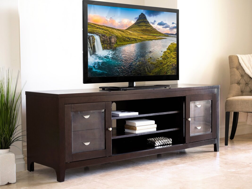 Under 999 99 The Expect Price From Red Barrel Studio Anslee Solid Wood Tv Stand For Tvs Up To 72