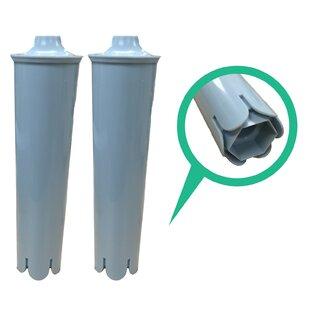 Crucial Jura Clearyl Refrigerator/Icemaker Water Purifier Filter (Set of 2)