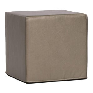 Contreras Block Shimmer Ottoman by Latitude Run