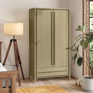 Dipaolo 2 Door Wardrobe By Ebern Designs
