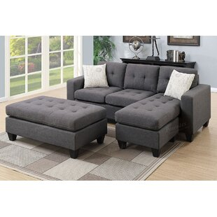 Caudell Modular Sectional with Ottoman