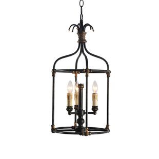 Steinmetz 3-Light Chandelier by Bay Isle ..