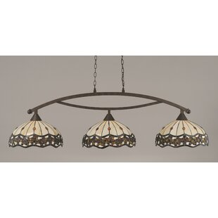 Astoria Grand Austinburg 3-Light Steel Billiard Light