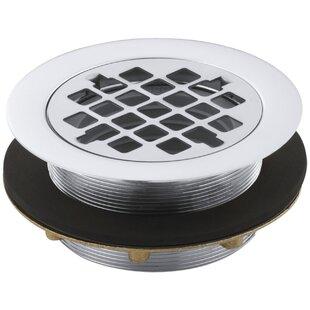 Find a Round 2 Grid Shower Drain By Kohler