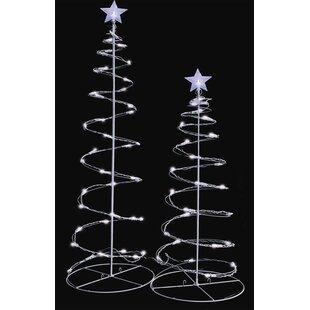 Outdoor Christmas Tree Decorations You'll Love | Wayfair