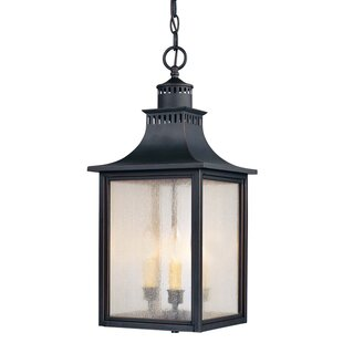 Online Reviews Kennett 3-Light Outdoor Hanging Lantern By Laurel Foundry Modern Farmhouse