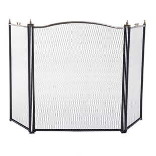 3 Panel Plastic Fireplace Screen By Symple Stuff
