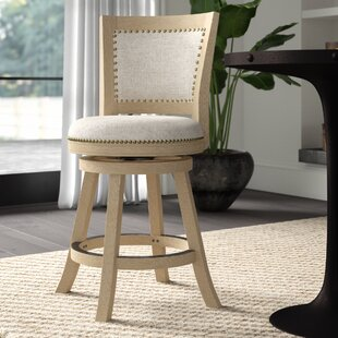 Joanne 24 Round Swivel Bar Stool