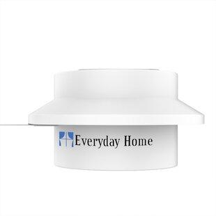 Everyday Home Solar Outdoor Mounted 2 Light LED Flood/Spot Light