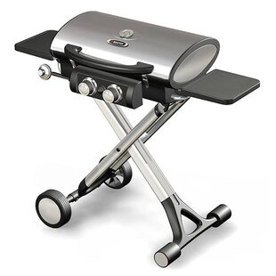 Foldable 2-Burner Propane Gas Grill By BroilChef