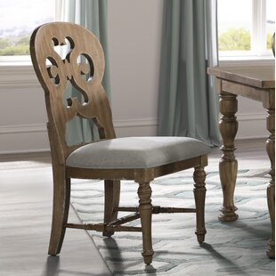 Elena Upholstered Dining Chair (Set Of 2) by Ophelia & Co. Great price