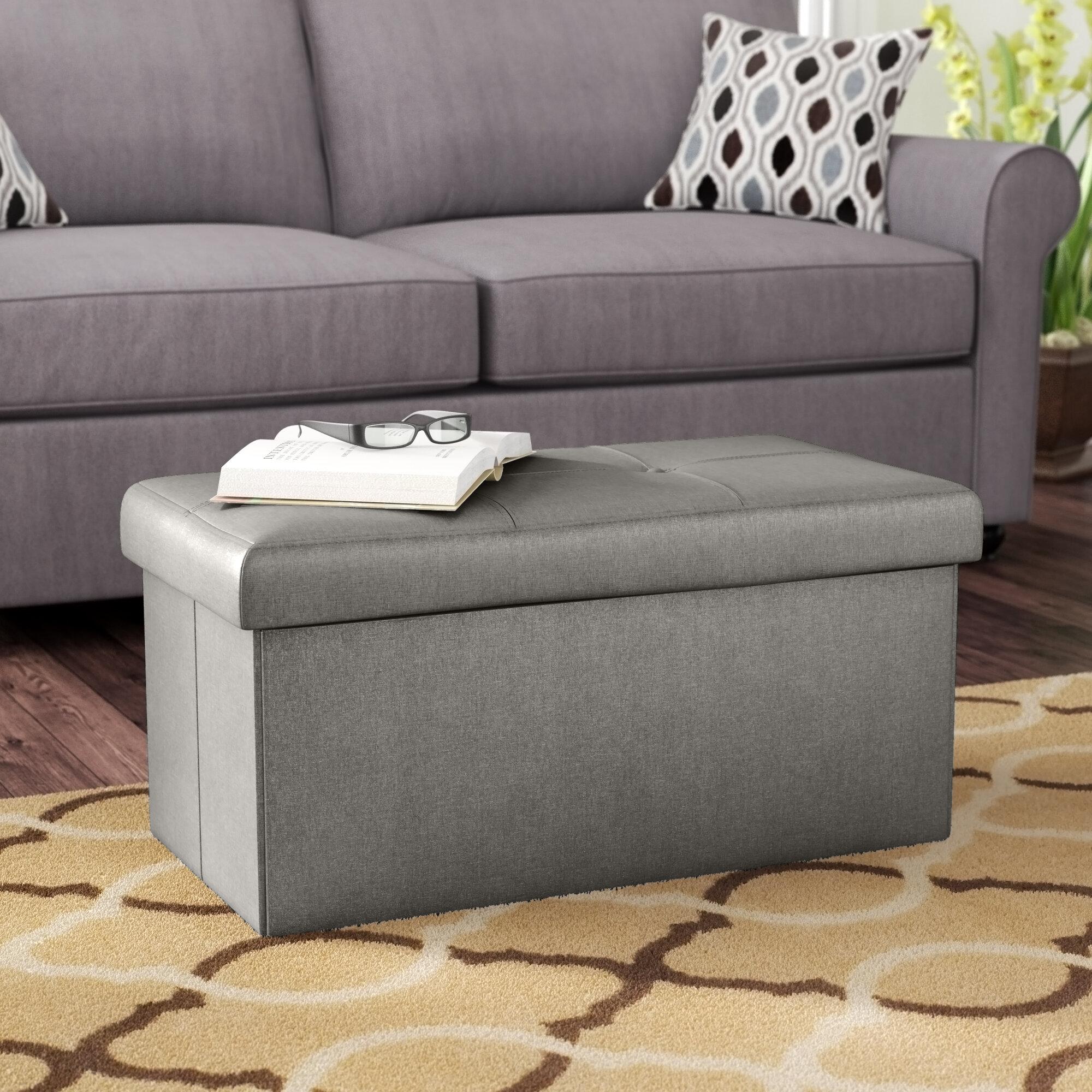 Sensational Hobert Double Tufted Storage Ottoman Pabps2019 Chair Design Images Pabps2019Com