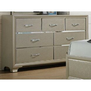 Zed 7 Drawer Dresser by House of Hampton Discount