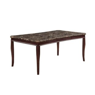 Coledale Marble Top Dining Table by Fleur De Lis Living Great Reviews