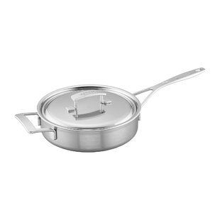 Industry Stainless Steel Saute Pan with Lid
