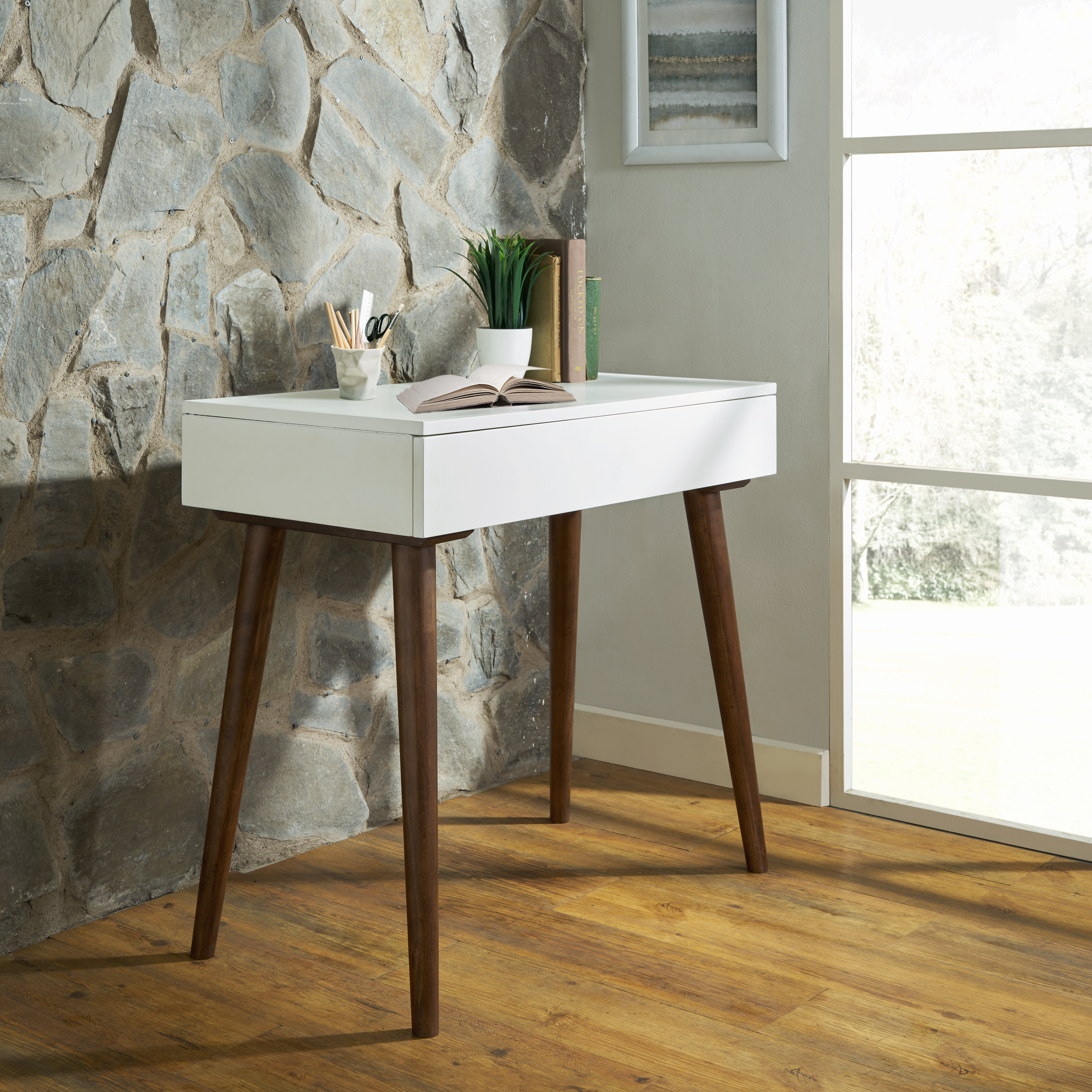 Bergeson Solid Wood Desk