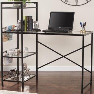 Sandersville Writing Desk with Bookcase