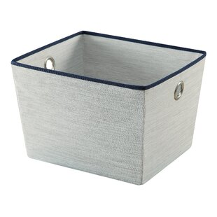 Inexpensive Twilight Tote Fabric Bin (Set of 2) By Organize It All