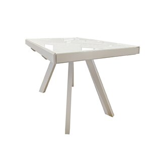 Delosreyes Double Extendable Leaf Dining Table
